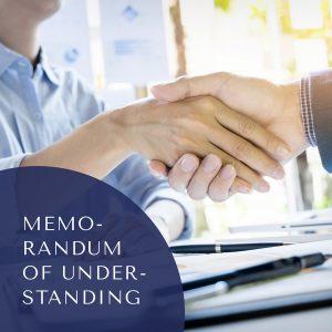 Preparation of Memorandum of Understanding/Mediation Agreement